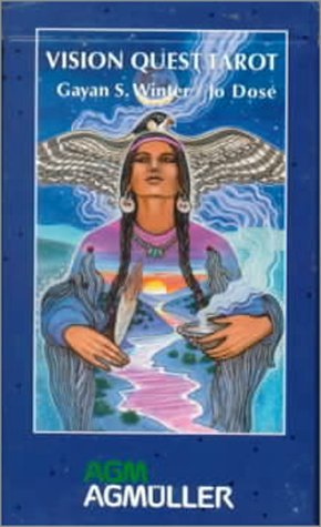Vision Quest Tarot Deck by Gayan Sylvie Winter (1-Mar-1999) Cards (The Quest Tarot Deck compare prices)