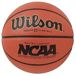 Wilson NCAA Solution Women's/Intermediate Composite Indoor Basketball (28.5)