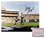Steve Largent Seattle Seahawks NFL Hand Signed 8x10 Photograph Touchdown