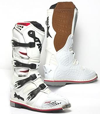 Botte moto cross OXTAR taille 41 blanche
