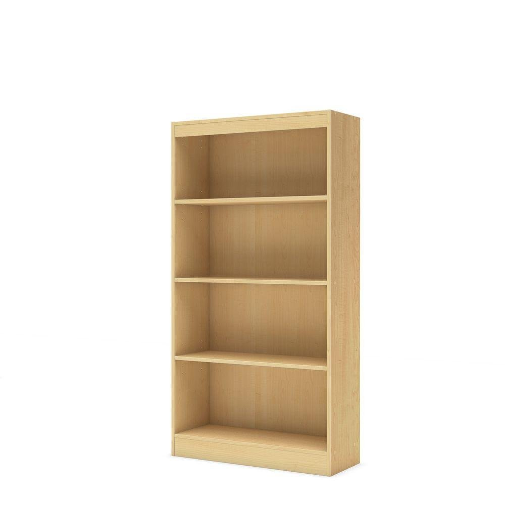 axess-collection-4-shelf-bookcase-in-natural-maple