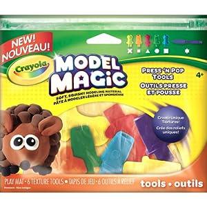 Crayola Model Magic Press N Pop Texture Tools