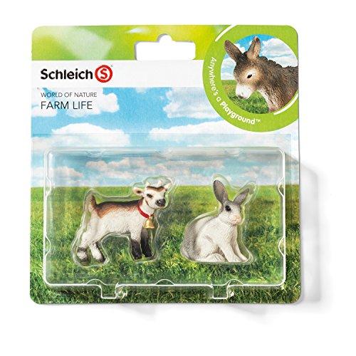 Schleich 21034 - Farm Life Babies, Wildtiere Spielset - Set 5