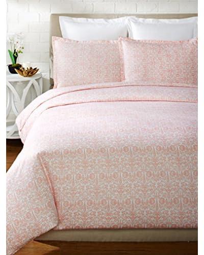 Mélange Home 400 Thread Count 100% Cotton Lotus Duvet Set