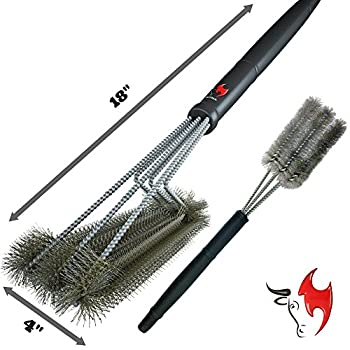 360° Clean Grill Brush, Kona 18