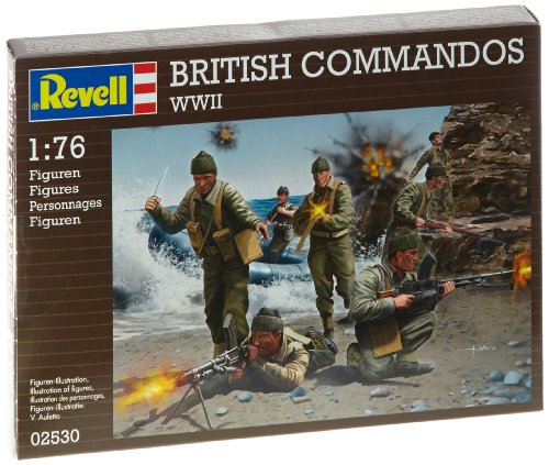 British Commandos WWII 1/76 Revell Germany