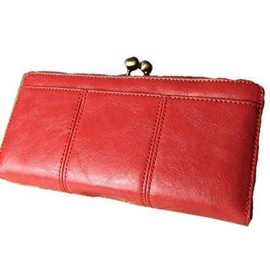 4bacea2333e1 がま口ポケットが使いやすい光沢フェイクレザーの長財布♪◎PK