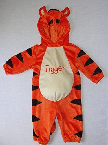 Disney 12 Months Plush Tigger Tiger Costume front-169037