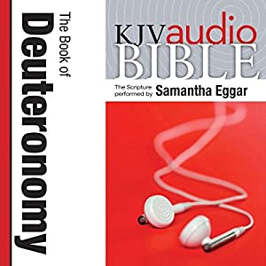 King James Version Audio Bible: The Book of Deuteronomy Audiobook