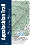 img - for Appalachian Trail Southern States (Appalachian Trail Pocket Maps) (Volume 1) book / textbook / text book