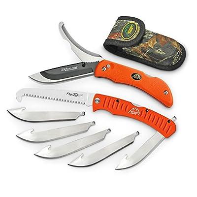 Outdoor Edge Razor-Pro/Saw Combo Folding Knife Box, Orange