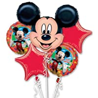 Mickey Mouse party Balloons Happy Birthday Bouquet by Amscan