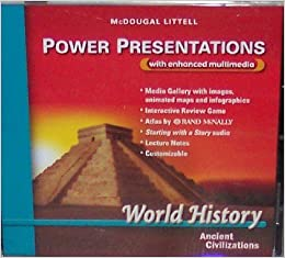 mcdougal littell ancient world history patterns of interaction