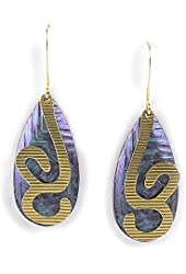 Jody Coyote Earrings QN411-01 Nothern Lights Collection