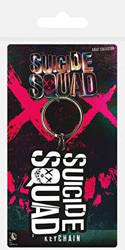 Suicide Squad - Logo Portachiave (6 x 4cm)