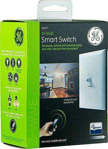GE 12727 Z Wave Wireless Lighting Control Smart Toggle