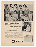 1967 Crookston & Smith Families Maytag Washer Dryer Print Ad (13054)