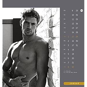 Männer Postkartenkalender - Kalender 2017
