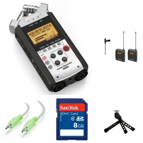 Zoom H4N Sennheiser Ew112P G3 Wireless Portable Recording System