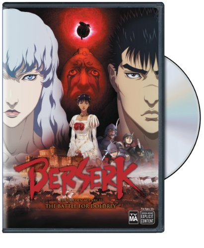 berserk movie 2 dvd
