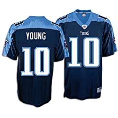Reebok Tennessee Titans Vince Young Youth Replica Jersey by Reebok