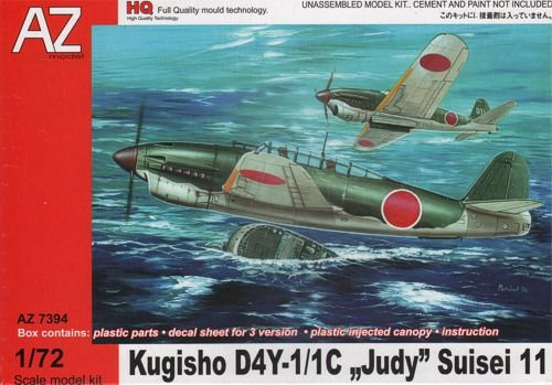 AZ Models 73094 Kushigo D4Y-1/1C Judy Suisei 11 1:72 Plastic Kit Maquette