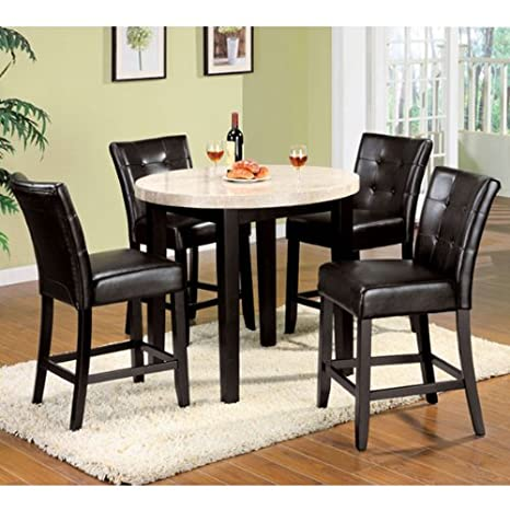 Marion 5-Piece Counter Height Dining Table Set
