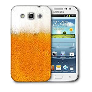 Snoogg Beer Glass Designer Protective Back Case Cover For Samsung Galaxy Win i8552