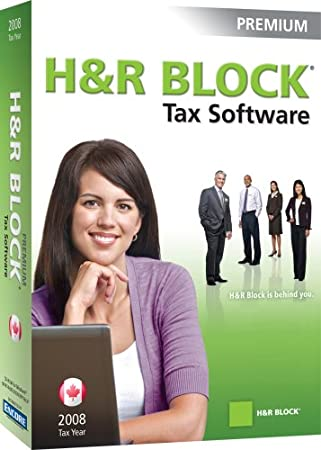 H&R Block 2008 Premium Tax Software[Old Version]