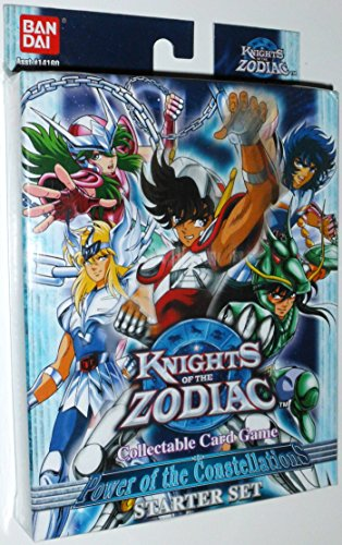 Knights of the Zodiac Collectable Card Game (CCG): Power of the Constellations Starter / Theme Deck