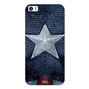 Hamee Marvel Civil War Captain America Iron Man Licensed Hard Back Case Cover For iPhone 6 / 6s Cover - Design 1