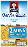 Quaker Oatso Simple Porridge Variety 297 g (Pack of 9)
