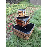 Stonegate Designs 3-Tiered Wooden Fountain