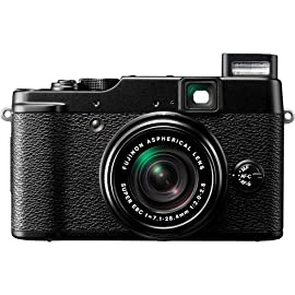 Fujifilm Finefix X10 12MP Digital Camera w/ 28-112mm f/2.0-2.8 (35mm equiv) Telephoto Manual Zoom Lens (Black)