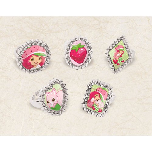 Strawberry Shortcake Jewel Ring