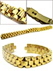 13MM Women Lady Jubilee Gold Datejust Watch Band Rolex