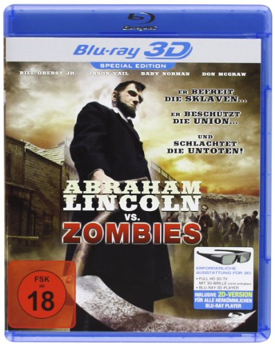 Abraham Lincoln vs. Zombies [3D Blu-ray] [Alemania] [Blu-ray]