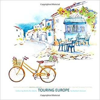 Colouring Books for Adults Touring Europe: Colouring Books for Adults Paris in al; Colouring Books for Adults in al; Adult Colouring Books Travel in ... Cities Europe F Italy Rome Paris London in al