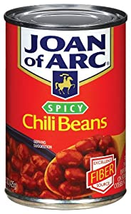 Joan Of Arc Spicy Chili Beans - 12 Pack from Joan of Arc