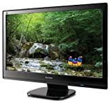 Viewsonic VX2453MH-LED 24-Inch Ultra-thin Widescreen LED Monitor - Black