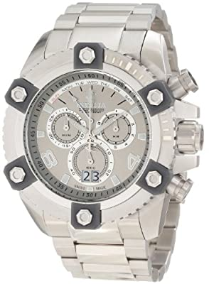 Invicta Men's 0336 Arsenal Chronograph Silver Dial Watch