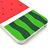 Queens® New fashion Pattern Hard Back Cover Snap on Case for iPhone 5 / 5s(summer watermelon)