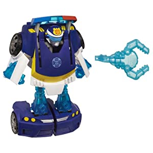 Playskool Heroes Transformers Rescue Bots Energize Chase the Police-Bot Figure