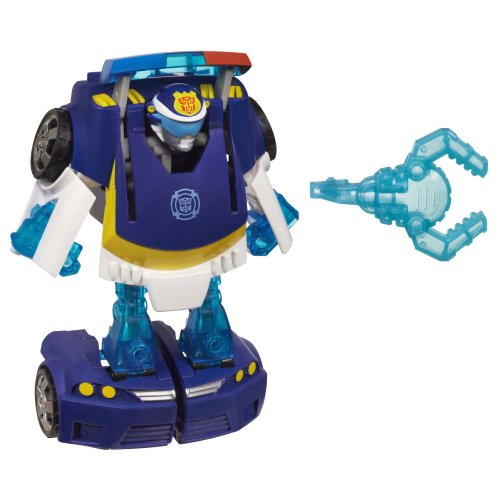 Playskool Heroes Transformers Rescue Bots - Transforming Chase The Police-Bot [UK Import] hier kaufen