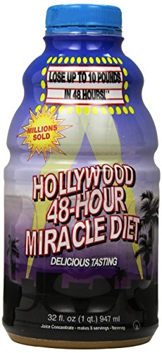 Hollywood 48-Hour Miracle Diet, 32-Ounce Bottles