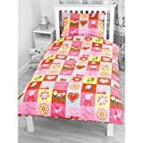 Character World Peppa Pig Spiral Rotary Single Duvet Setby Ben & Holly
