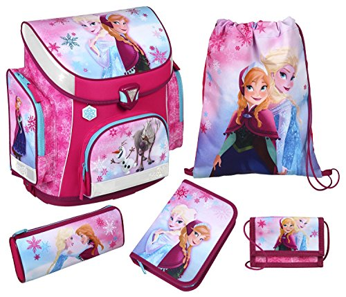 Schulranzen Set Campus Plus Disney Frozen, 5 teilig