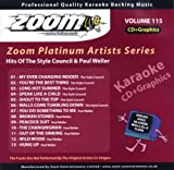 Zoom Karaoke CD+G - Platinum Artists 115: The Style Council & Paul Weller Zoom Karaoke