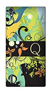 SWAG my CASE PRINTED BACK COVER FOR HUAWEI ASCEND P7 Multicolor