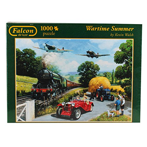 Falcon De Luxe - Wartime Summer Jigsaw Puzzle (1000 Pieces) (1000 Piece Airplane Puzzle compare prices)